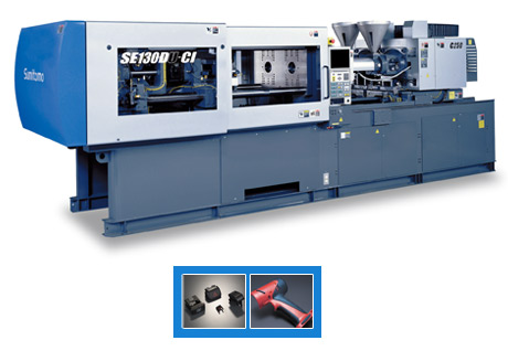 Sumitomo Plastics Machinery's SED-CI Multi-Shot Series | Plastic